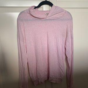 Tna (aritzia) thin long sleeve hoodie